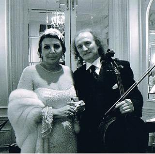 Roman & Maria Guleghina, opera singer of Metropolitan Opera & La Scala