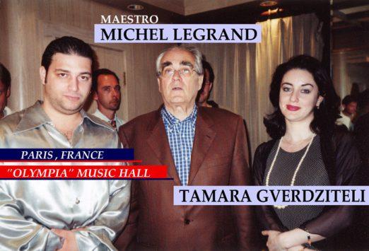 Igor Gazarkh & Maestro Michel Legrand