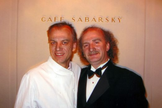 Roman & Kurt Gutenbrunner, chef & owner of Wallse Restaurant