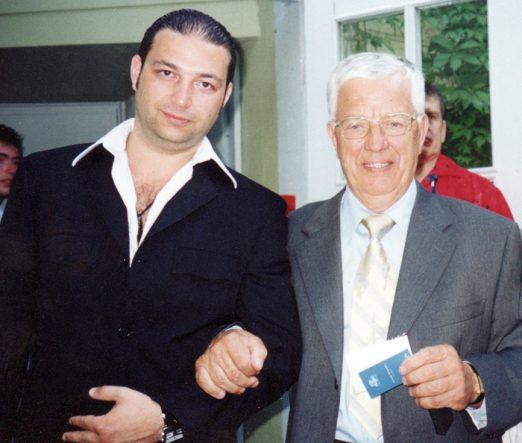 Igor Gazarkh & Maestro Raimond Pauls
