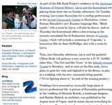 Lev Zhurbin (Ljova) - New York Times Article
