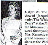 NY Times - Jacqueline Kennedy 'The White House Years' at the Metropolitan Museum of Art